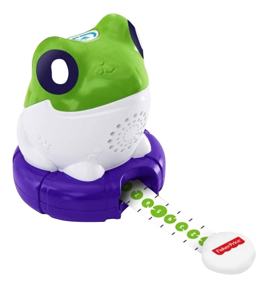 Купить Интерактивная развивающая игрушка Fisher-Price Измеряем и сравниваем. Лягушонок, Развивающие игрушки