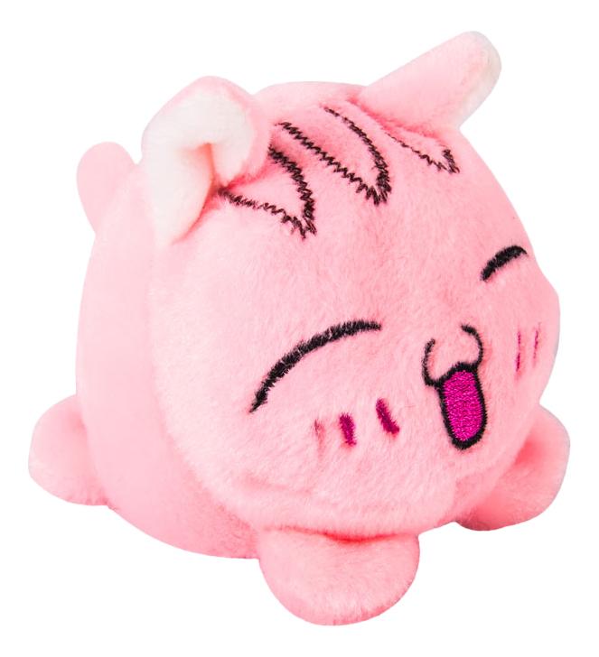 Мягкая игрушка Button Blue Мячик - Кот розовый, 7 см фото