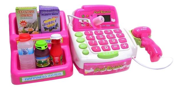 Игрушечная касса Мой магазин со сканером и микрофоном Play Smart Д48019