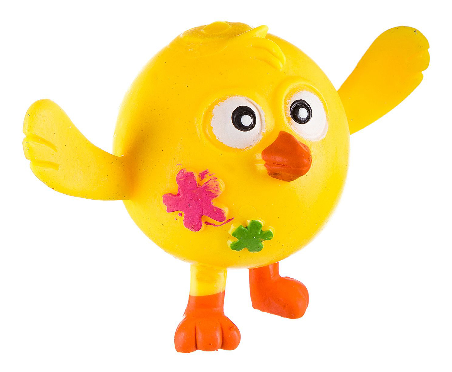 Купить Жамкарик цыпленок, Игрушка-антистресс Жамкарик Цыпленок Bondibon вв2501, Мягкие игрушки антистресс
