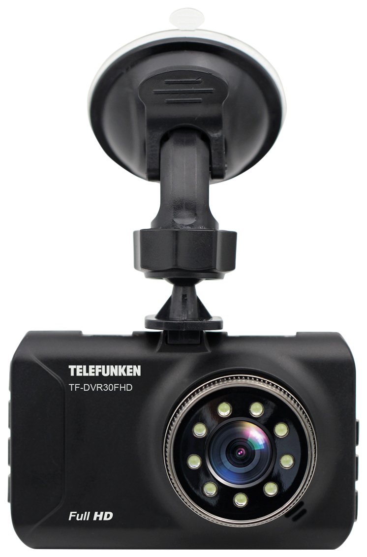 Видеорегистратор Telefunken 10013939 TF-DVR30FHD Black
