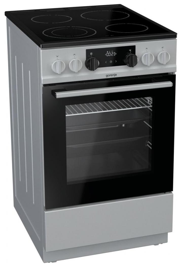 Электрическая плита Gorenje EC5341SC Silver