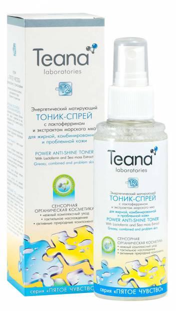 Тоник для лица Teana T2 Энергетический 125 мл