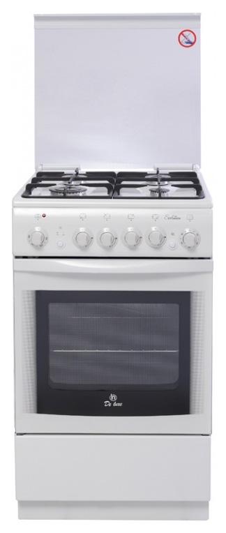 Комбинированная плита DeLuxe 5040.20 гэ White