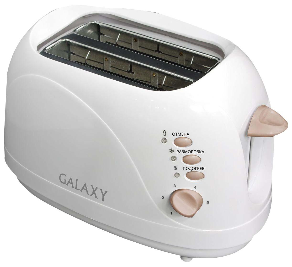 Тостер Galaxy GL 2904 White