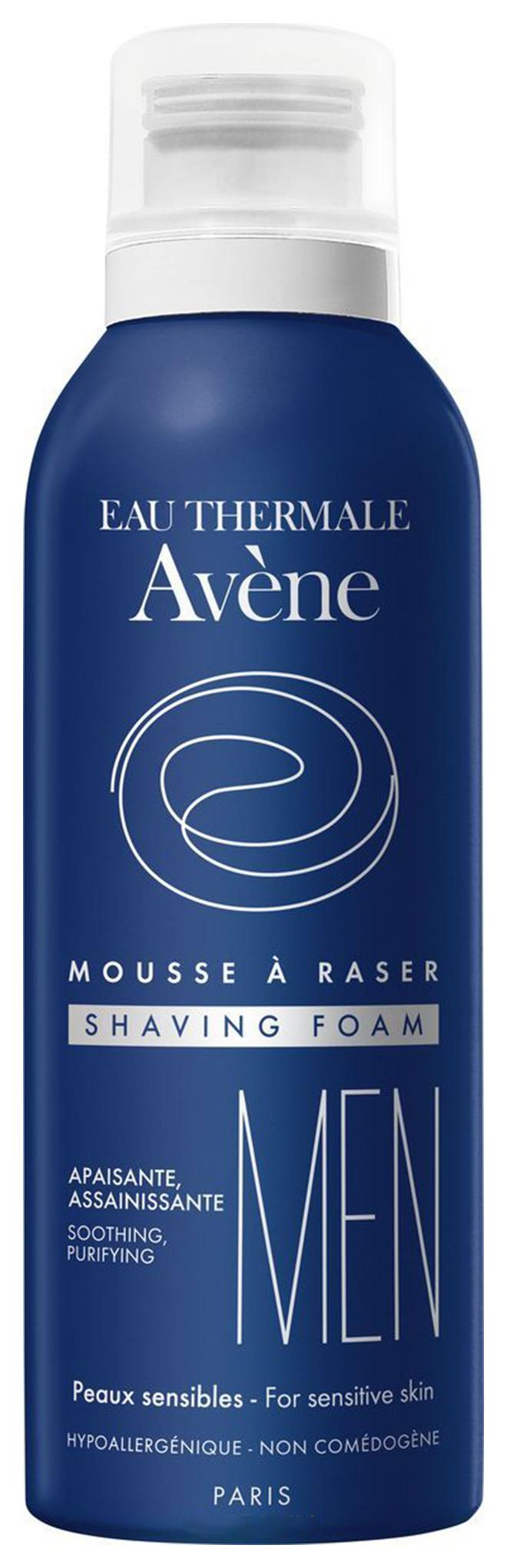 Пена для бритья Avene For men для всех типов кожи 200 мл