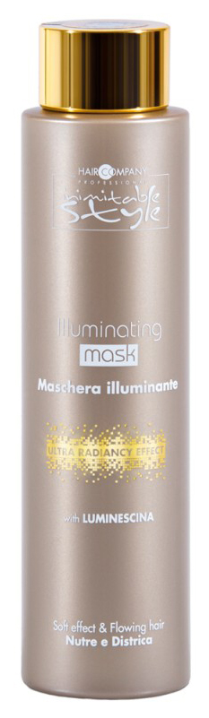 Маска для волос Hair Company Professional Inimitable Style Illuminating Mask 200 мл фото