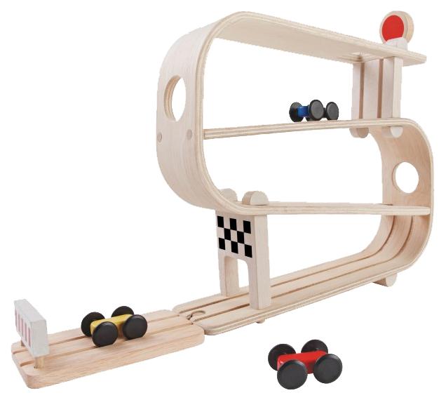 Купить Автотрек Plan Toys Гонщики 5379, PlanToys, Детские автотреки