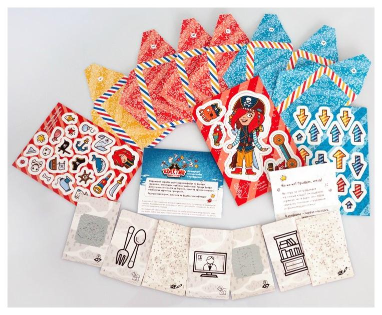 Купить Настольная игра Банда умников Квестик пиратский Мэри настольная игра, Банда Умников, Семейные настольные игры