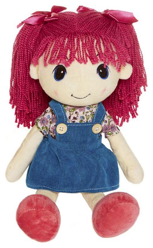Купить Стильняшка с Малиновыми Волосами, Кукла Maxitoys стильняшка с Малиновыми волосами, 40 см, Куклы