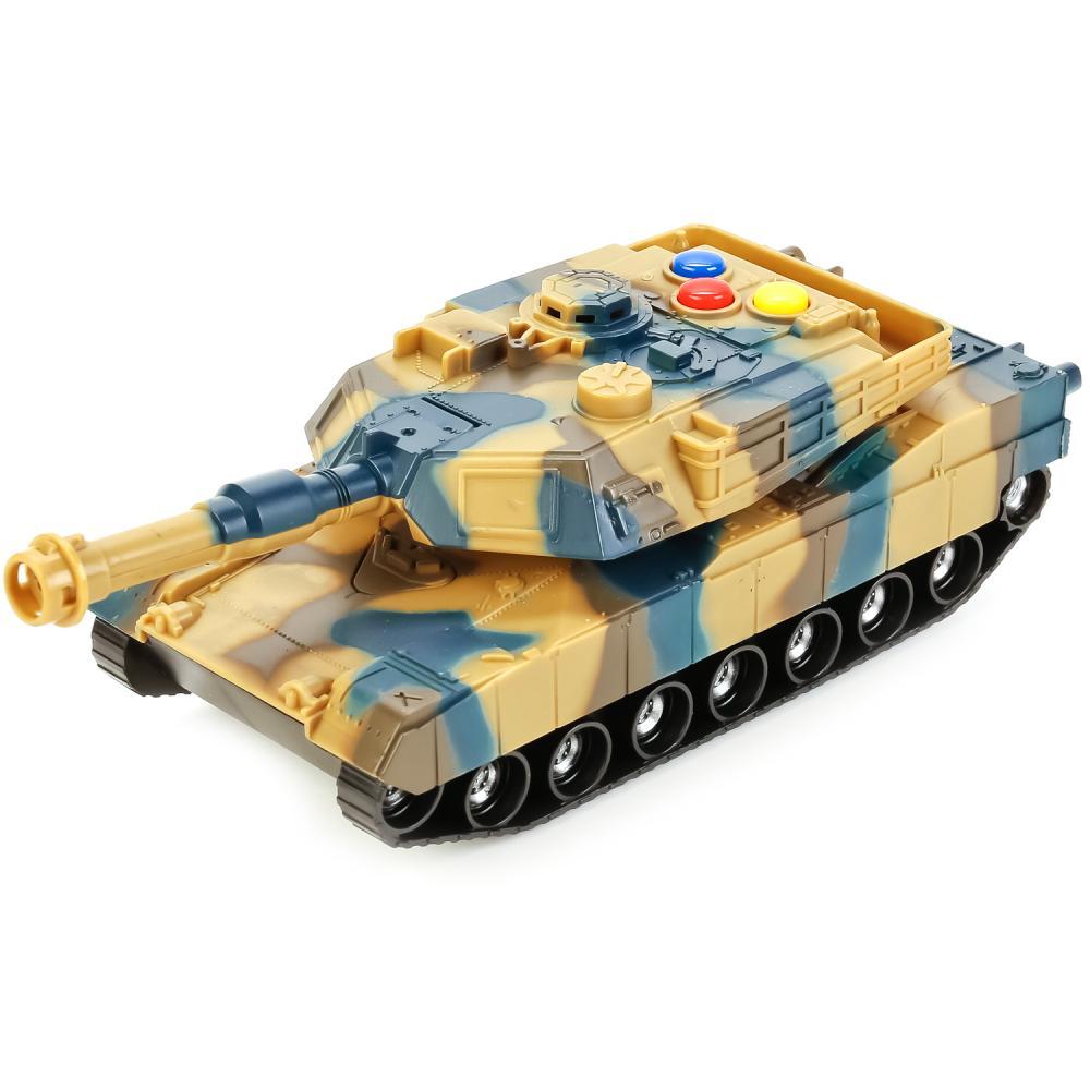 Купить Танк Играем Вместе со светом и звуком2x36 шт., Военный транспорт
