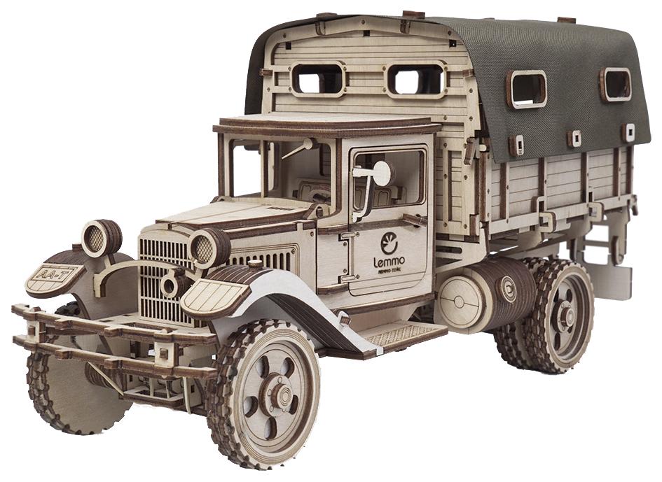Купить Модели для сборки Lemmo Большой грузовик ГАЗ-АА Тент