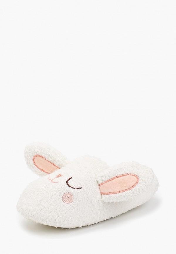 Домашние тапочки женские Halluci Ушастые кролики белые 36-37 RU