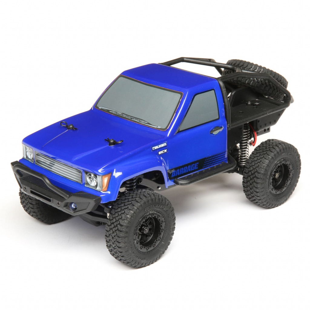 ECX ROCK CRAWLER BARRAGE 4WD BLUE