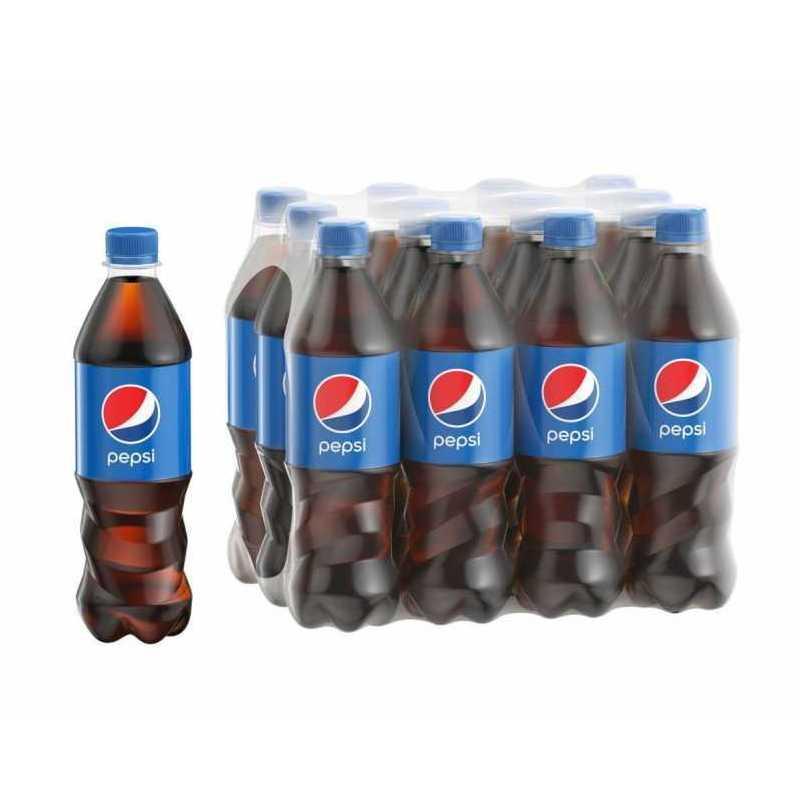 Напиток Pepsi газированный, 0.5 л упаковка 12 шт