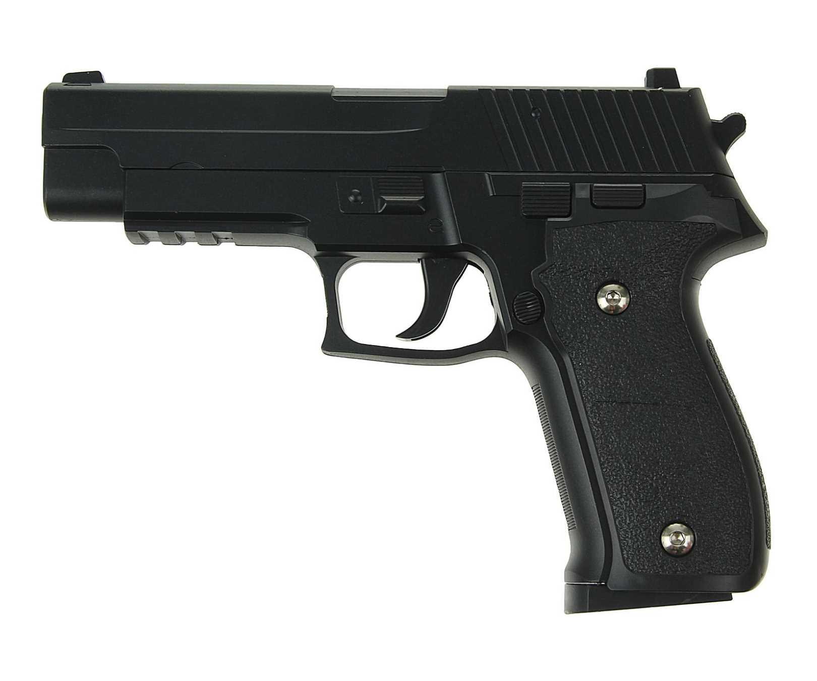 Страйкбольный пружинный пистолет Galaxy Китай (кал. 6 мм) G.26 (SIG226) фото