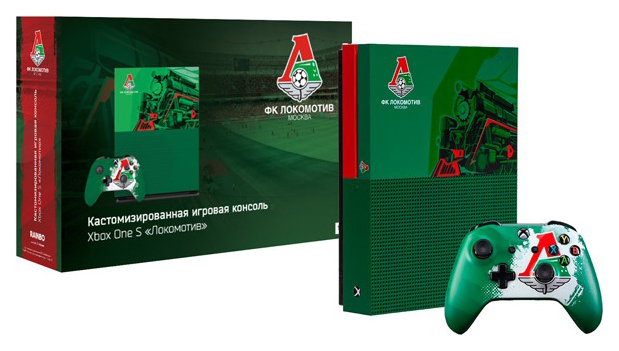 Игровая приставка Xbox One S Rainbo 1TB \