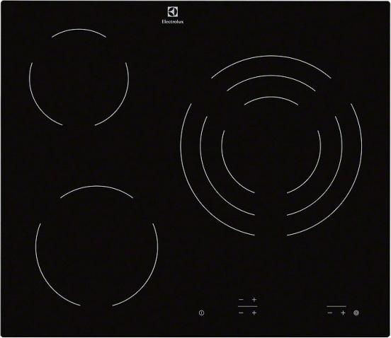 Встраиваемая электрическая панель Electrolux EHF6232IOK