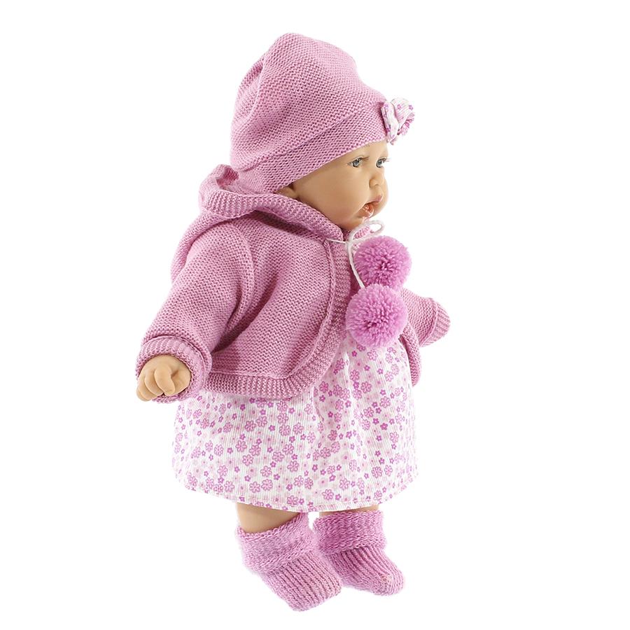 Купить Азалия в ярко-розовом, Кукла Munecas Antonio Азалия в Ярко-Розовом 27 см (1220C), Antonio Juan, Классические куклы