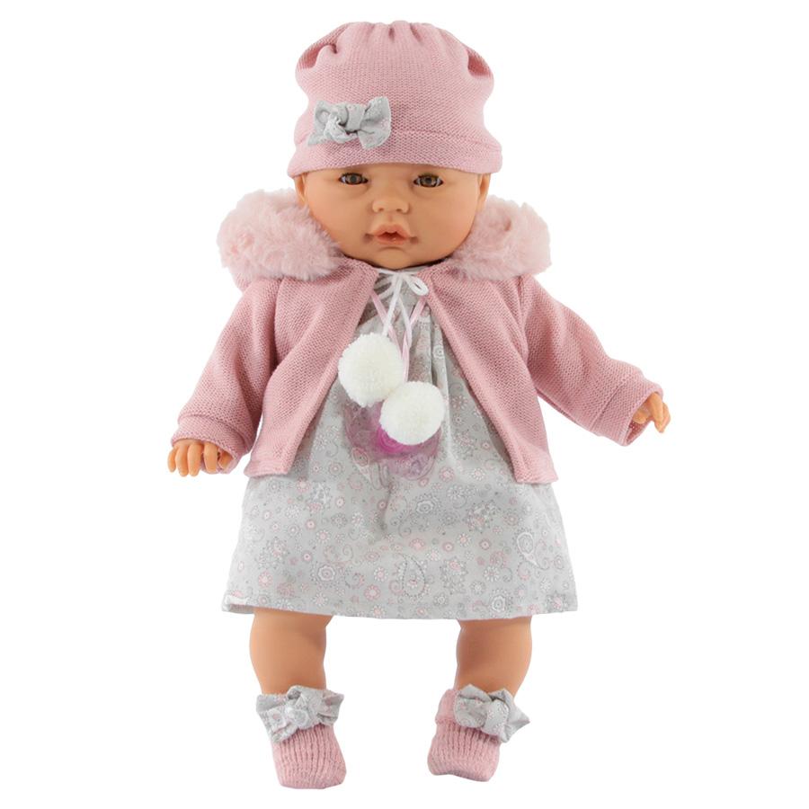Купить Кукла Antonio Juan Хуана в розовом плачет, открываются глаза 37 см, Классические куклы