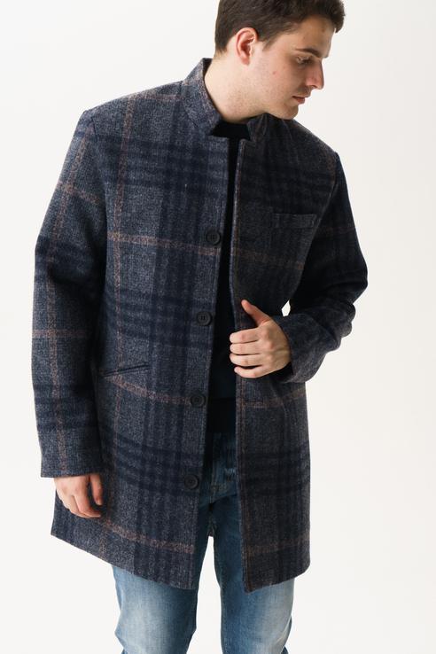 Пальто мужское ONLY & SONS 22013255 серое XS