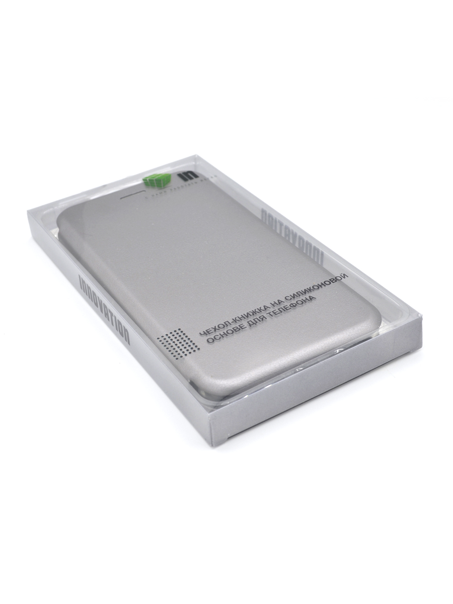 Чехол INNOVATION для iPhone 7 Silver