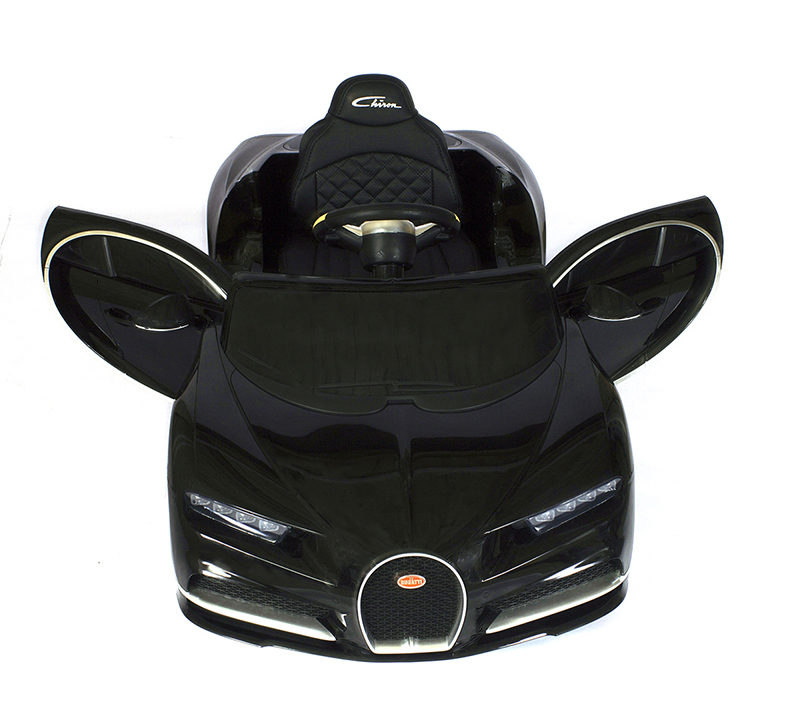 Купить Детский электромобиль Barty Bugatti Chiron HL318 (Лицензия), Чёрный, Электромобили