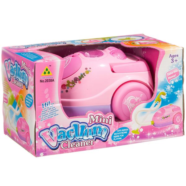 Игруш.пылесос Mini Vacuum Cleaner, BOX 24x14,5x14 см, арт. 2038A