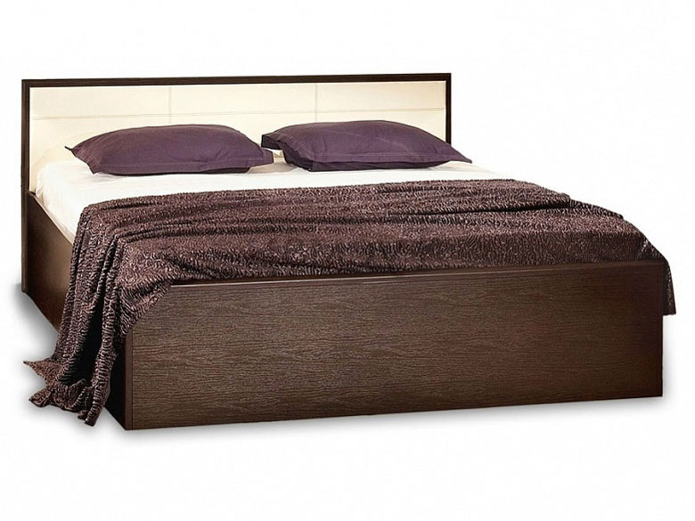 Двуспальная кровать Глазов АМЕЛИ венге, спальное место 140х200 см