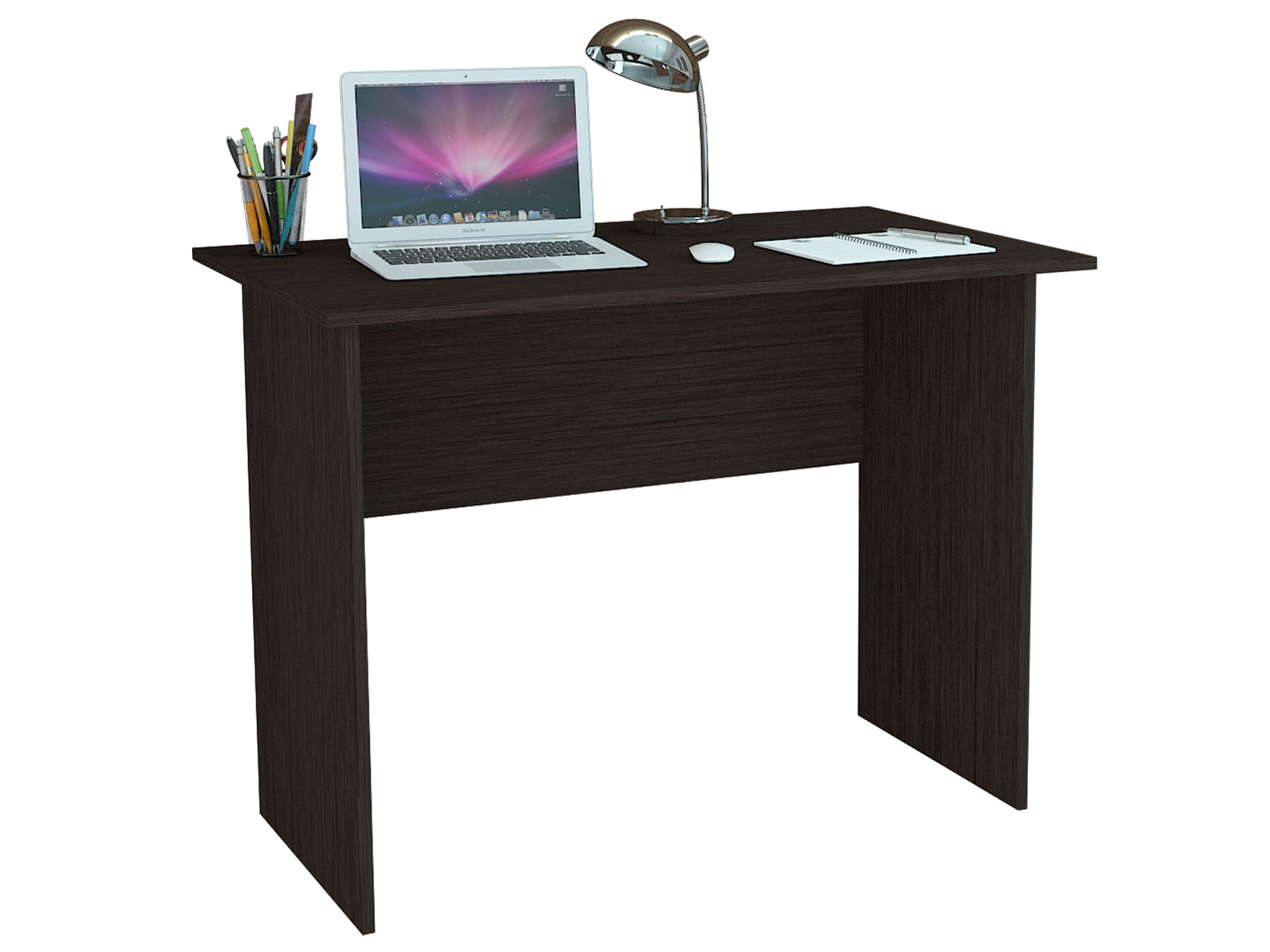 Компьютерный стол МФ Мастер Милан-106 100x60x75, венге фото