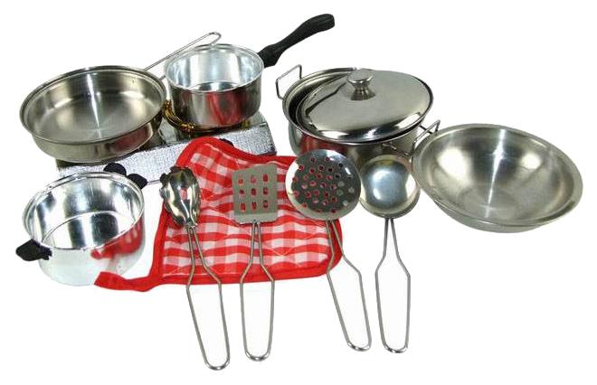 Игрушечная посуда ABtoys Для Кухни Помогаю Маме 11 Предметов 82853-TN фото