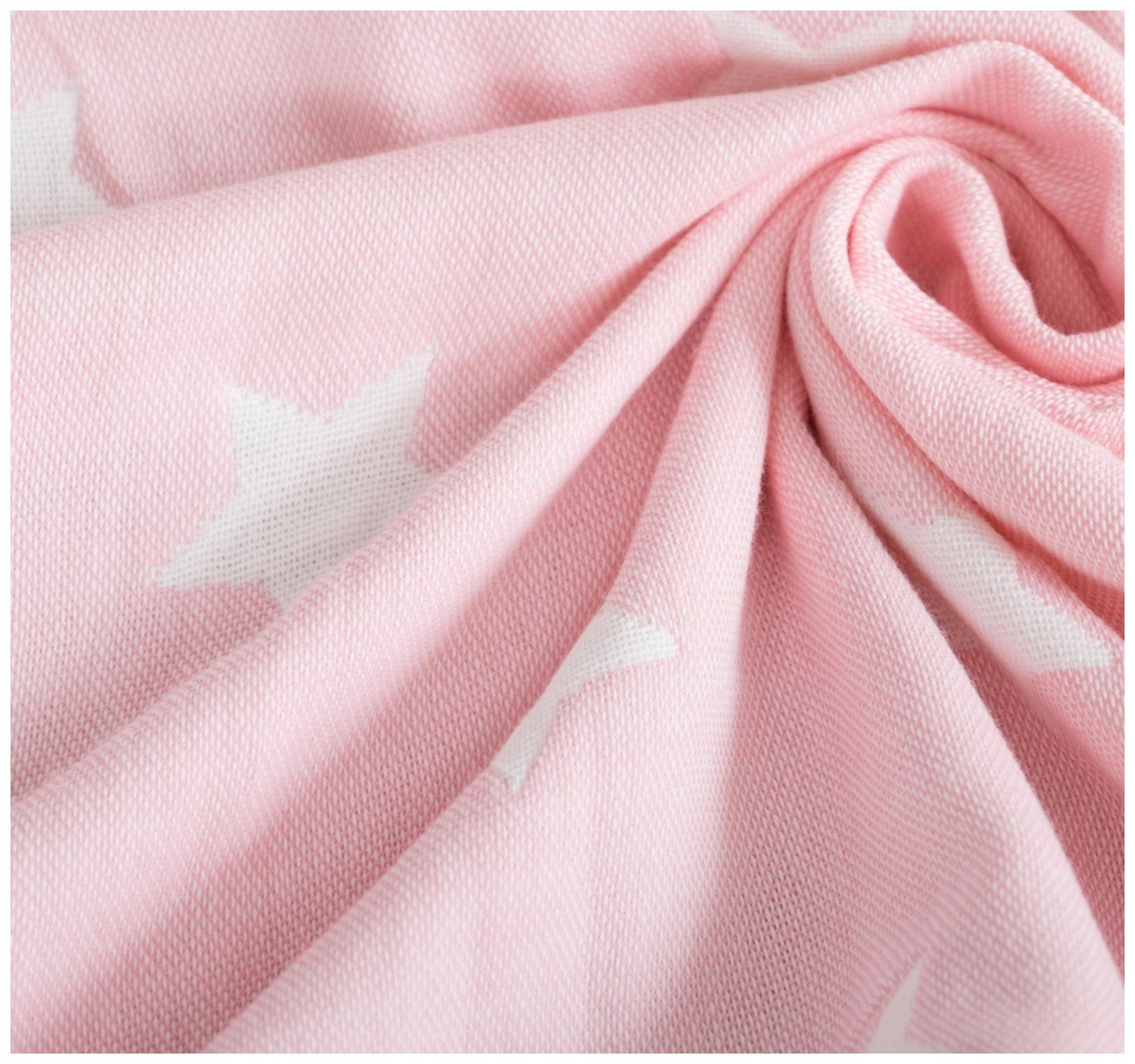 Одеяло детское Крошка Я Розовые звёзды, 110 × 140 см