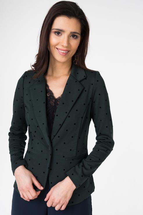 Пиджак женский ICHI 20104543 зеленый M