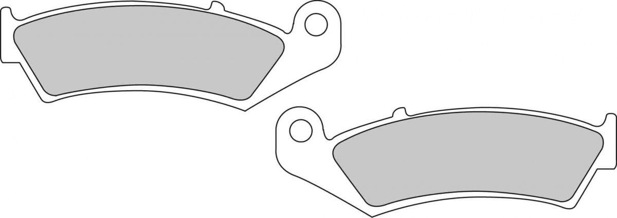 Тормозные колодки задние Ferodo FDB496P для мотоциклов