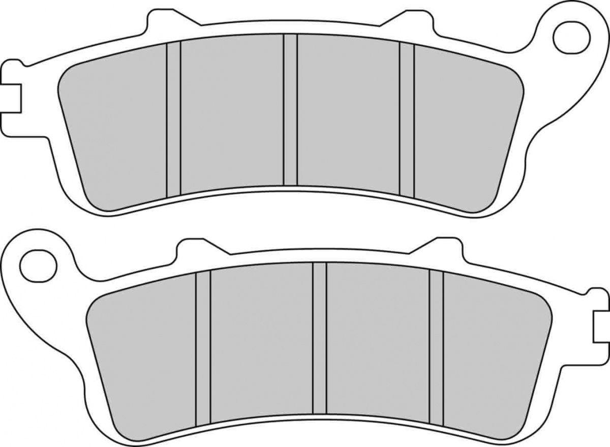 Тормозные колодки передние/задние Ferodo FDB2075ST для мотоциклов