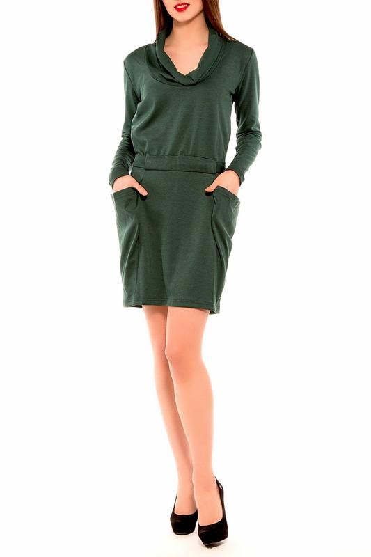 Платье женское Majaly DELI зеленое S.
