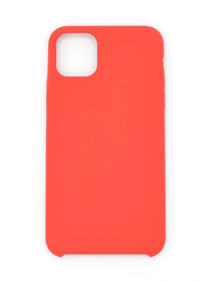 Чехол Silicone case для iPhone 11 Pro Max Red  фото