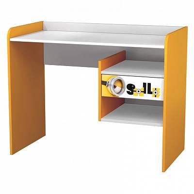 Купить Детский стол письменный Polini kids Fun 1000 Миньоны, желтый, Детские столики