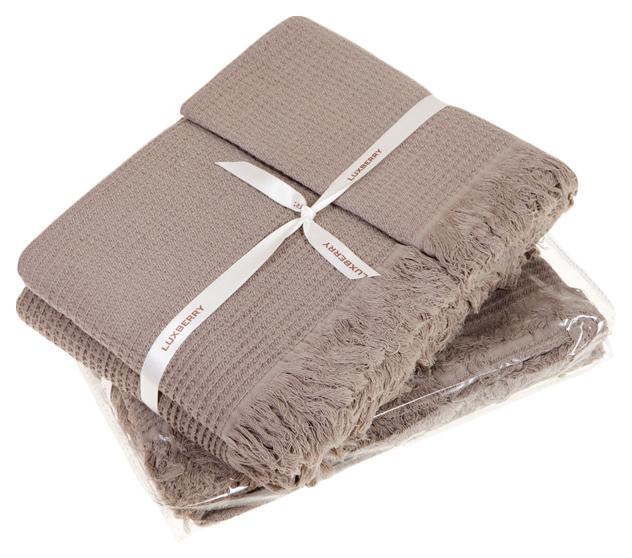 Набор полотенец Luxberry коричневый