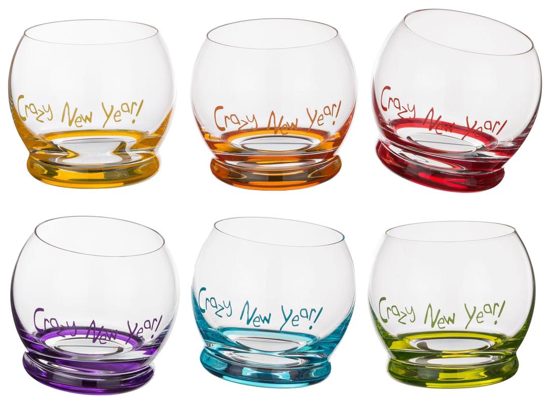 Набор стаканов Bohemia Crystal crazy new year