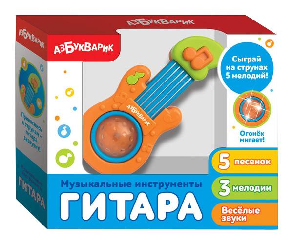 Музыкальная игрушка Азбукварик Гитара 28207-7