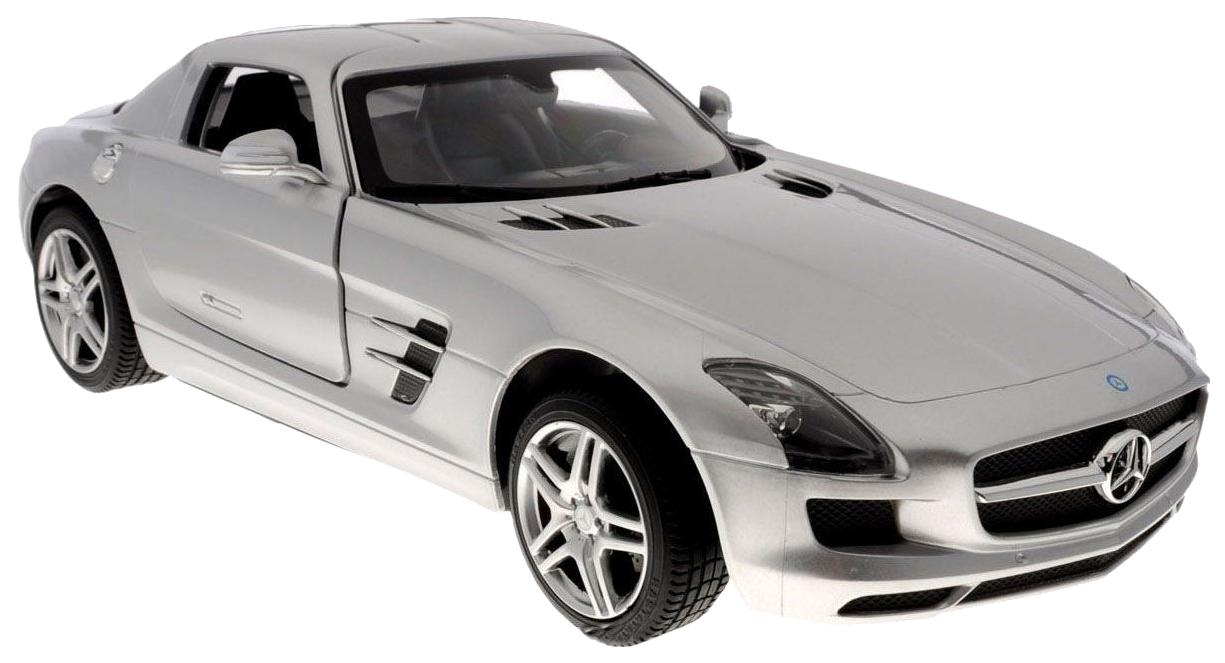 Радиоуправляемая машинка Rastar Mercedes-Benz SLS AMG серебристая 47600S