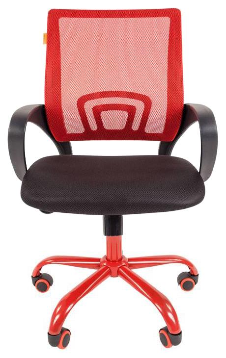 Офисное кресло CHAIRMAN 00-07021445, красный/черный