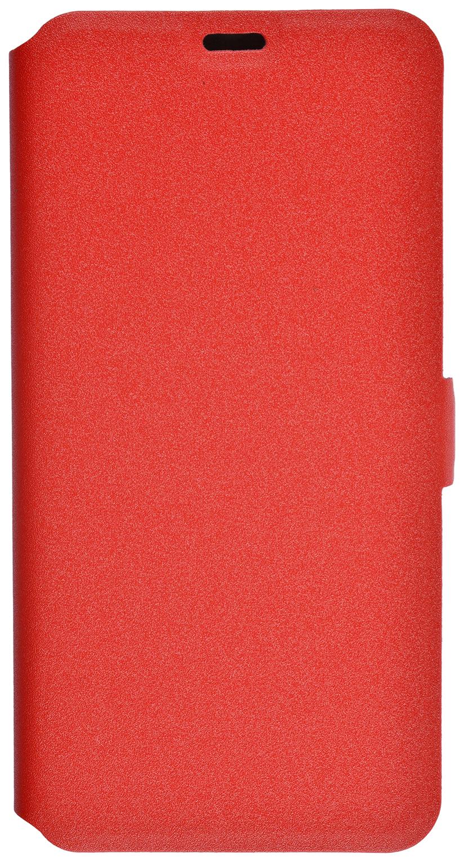 Чехол Prime для Xiaomi Redmi 5 Plus экокожа красный 32435