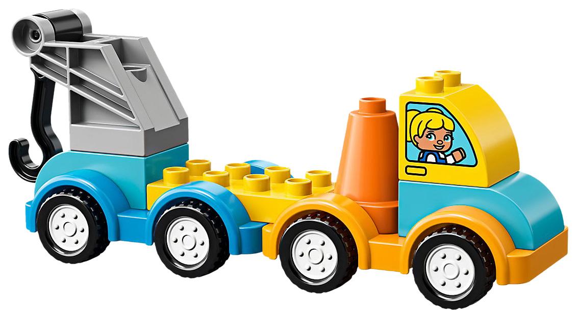 Конструктор LEGO Duplo 10883 Мой первый эвакуатор