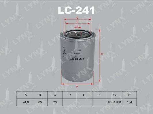 Масляный фильтр LYNXauto LC 241