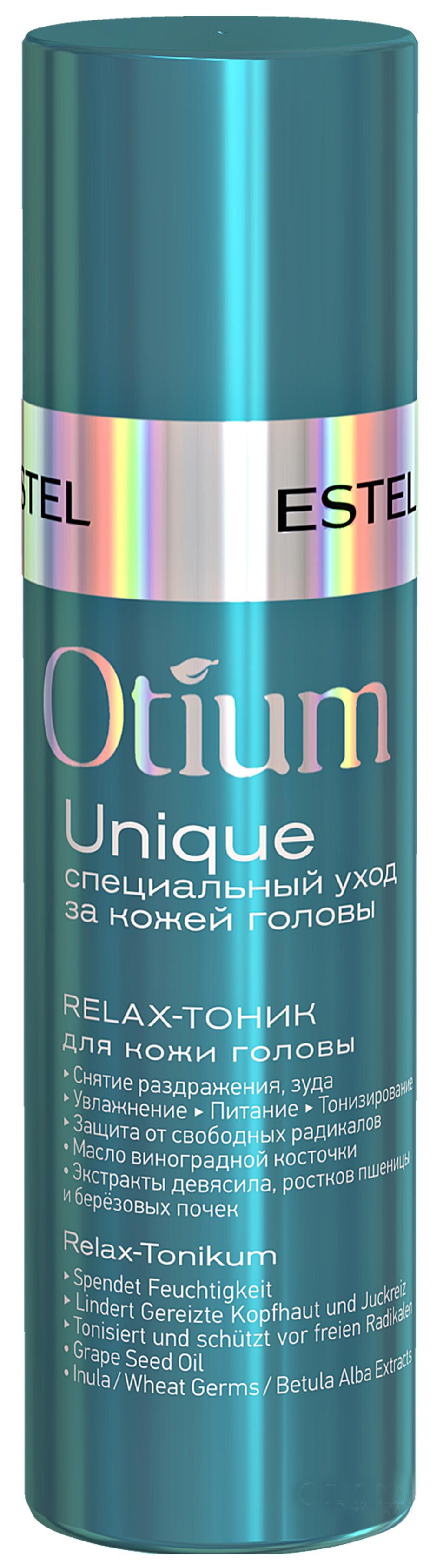Тоник для кожи головы Estel Otium Unique Relax Tonic 100 мл