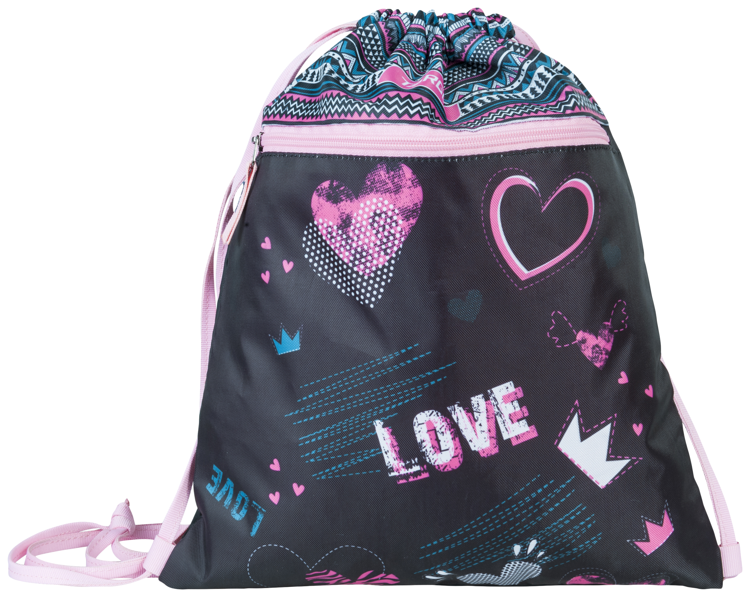 Мешок Target для детской сменной обуви Любовь