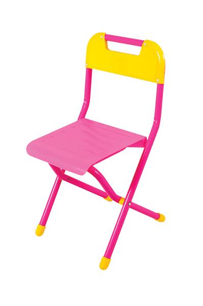 Стул детский Дэми складной №3 розовый