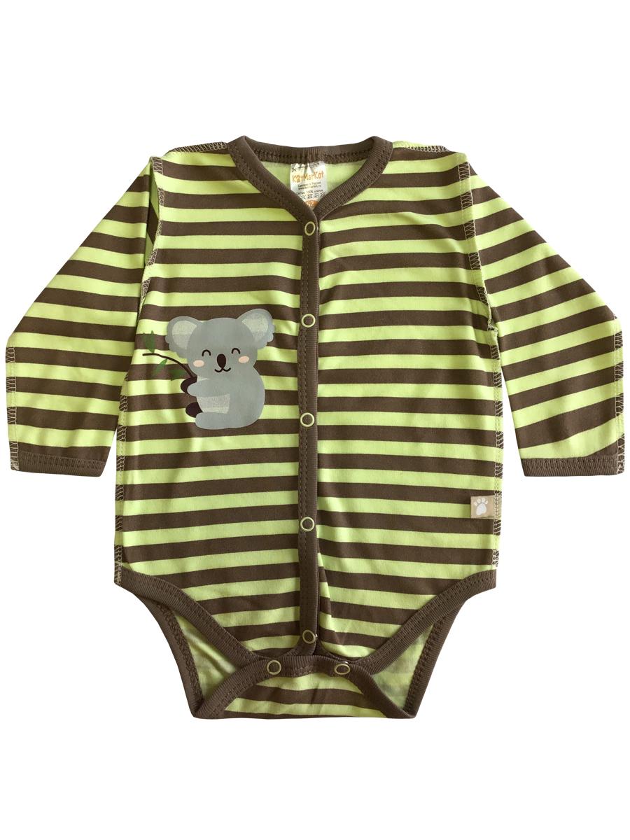 Купить Боди КотМарКот длинный рукав Коала р.86, Боди и песочники для малышей